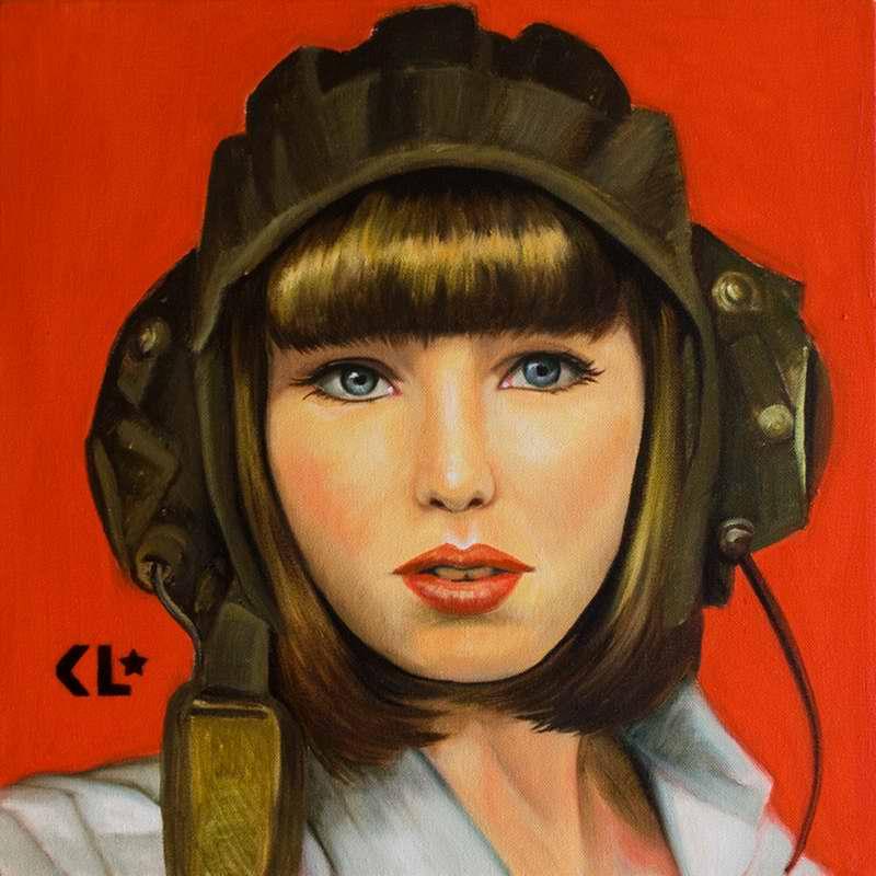 posledo - Советская армия в стиле легкомысленного соцреализма от художницы Катрин Лонгхерст