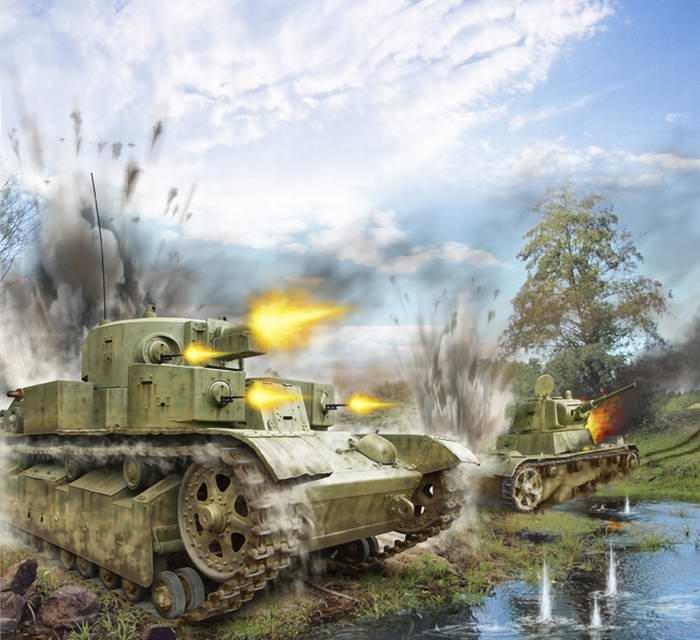 Танковое сражение под Дубно. Июнь 1941 года (Валерий Петелин)