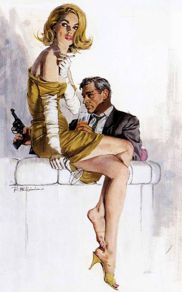 Рисунок художника Robert McGunnis(1)