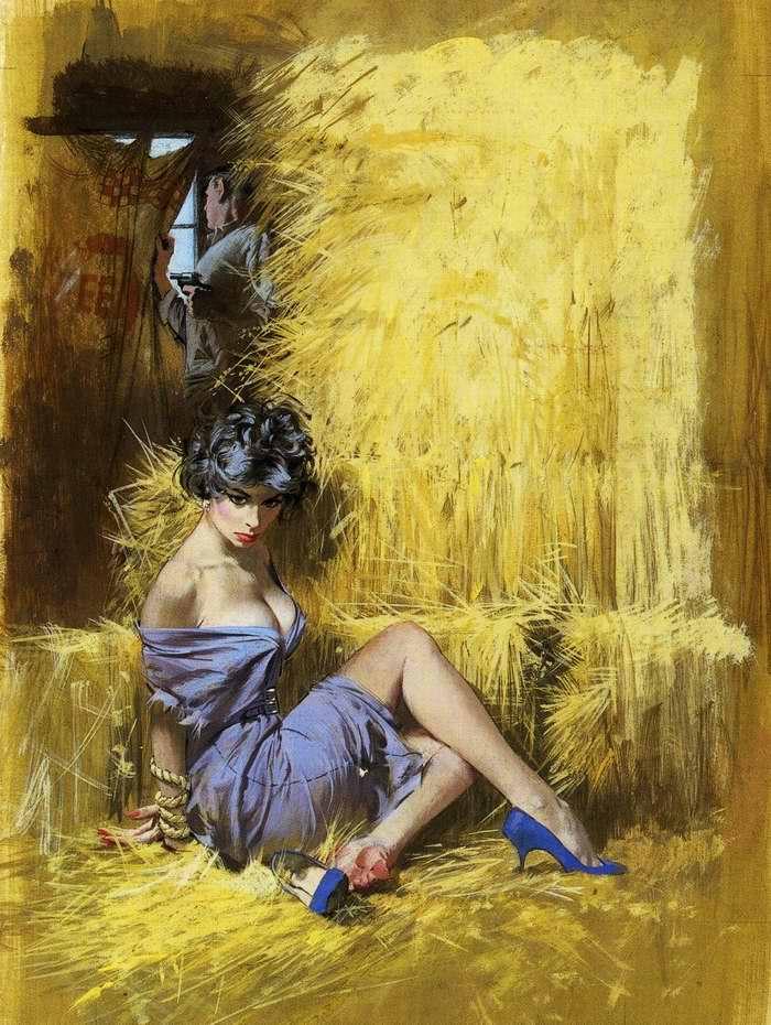 Рисунок художника Robert McGunnis (3)