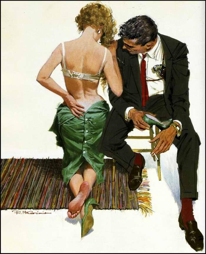 Рисунок художника Norman Saunders (4)