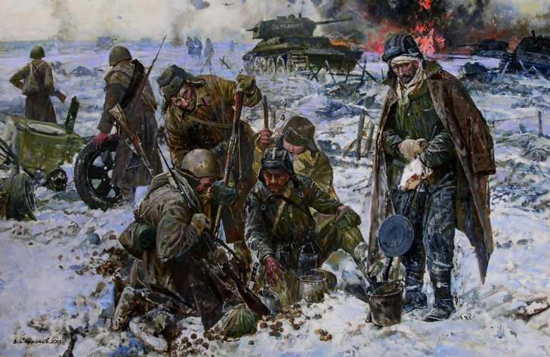 После боя (В. Сафронов)