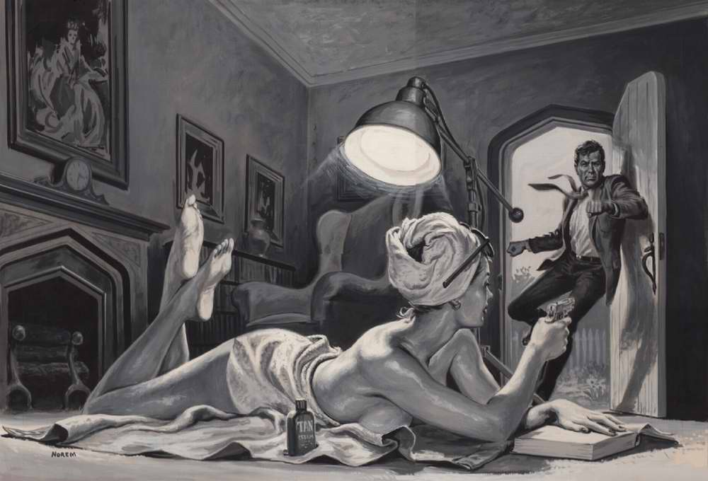 Рисунок художника Earl Norem (1)