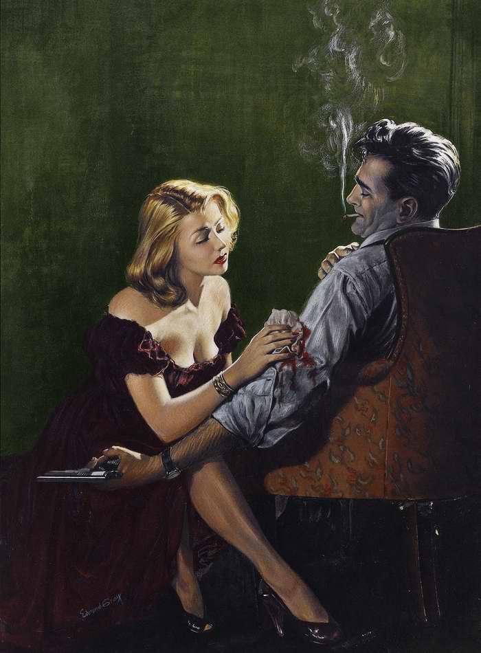 Рисунок художника Edmond Gray