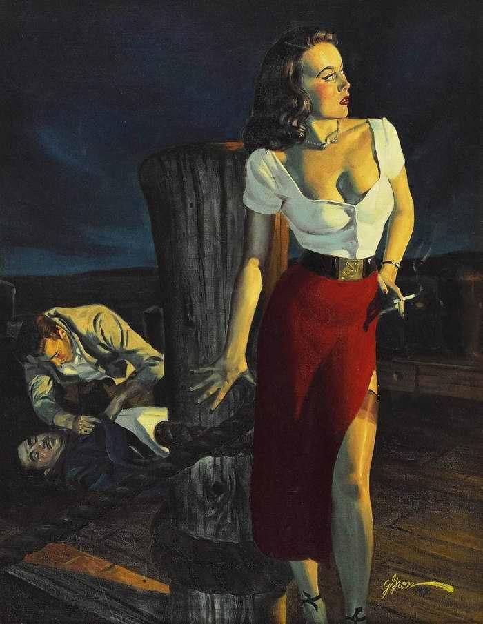 Рисунок художника George Gross (1)