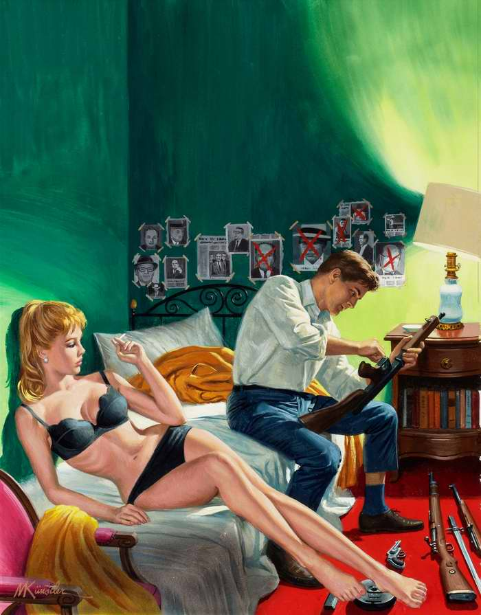 Рисунок художника Mort Kunstler