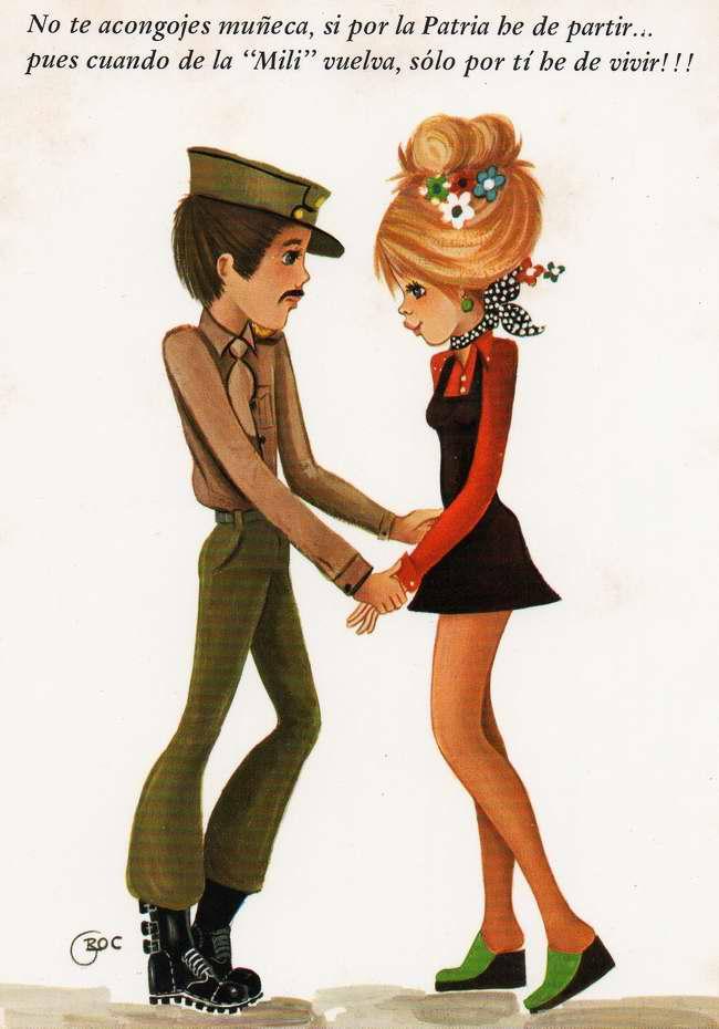 Не горюй, дорогая, когда я отправляюсь в военный поход. Ведь я вернусь, чтобы всегда быть только с тобой!