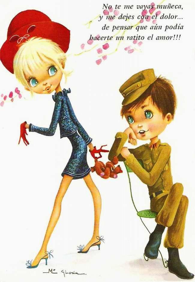 Не оставляйте меня, моя прелестная куколка и не причиняй мне сердечную боль ...