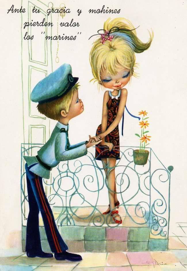 Ваша грация и трогательная скромность способны покорить сердце любого моряка!