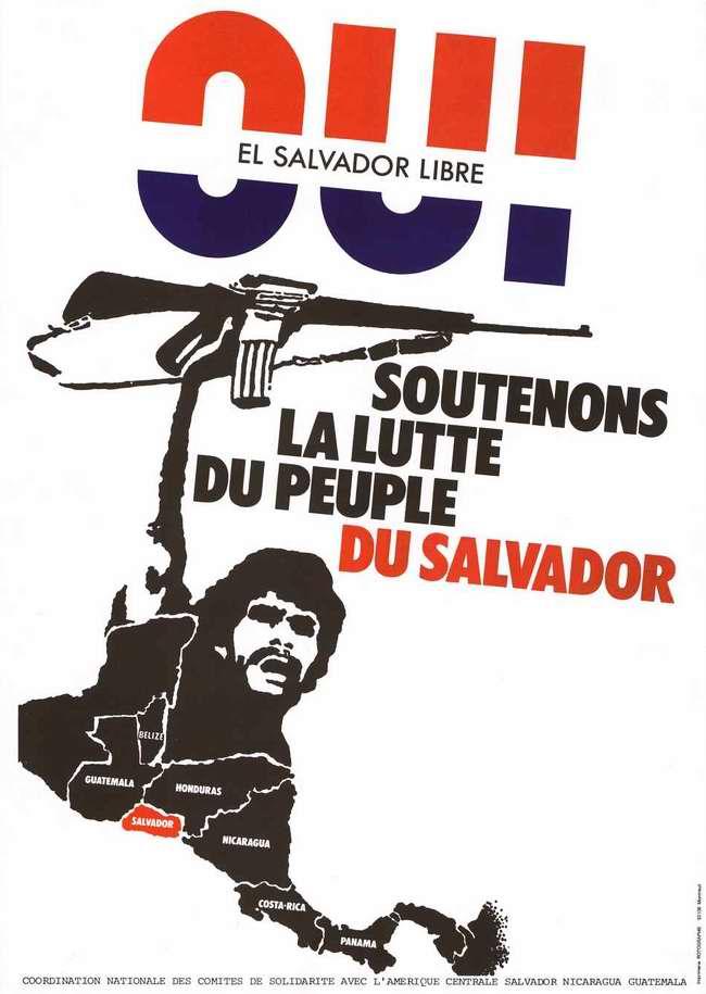 Окажите поддержку борющемуся народу Сальвадора