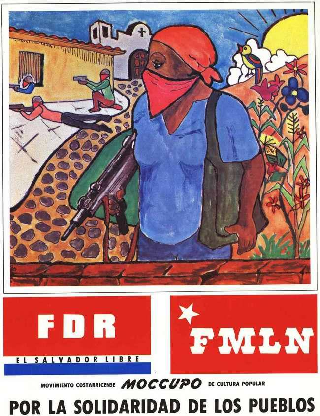 Революционно-демократический фронт и Фронт национального освобождения имени Фарабундо Марти: За международную солидарность!