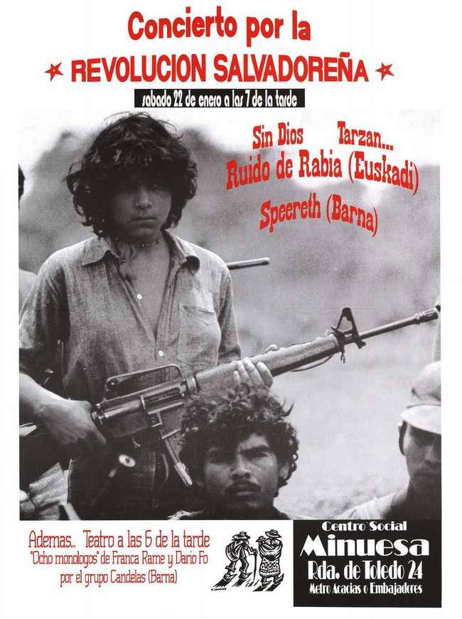 Концерт для участников революционной борьбы в Сальвадоре