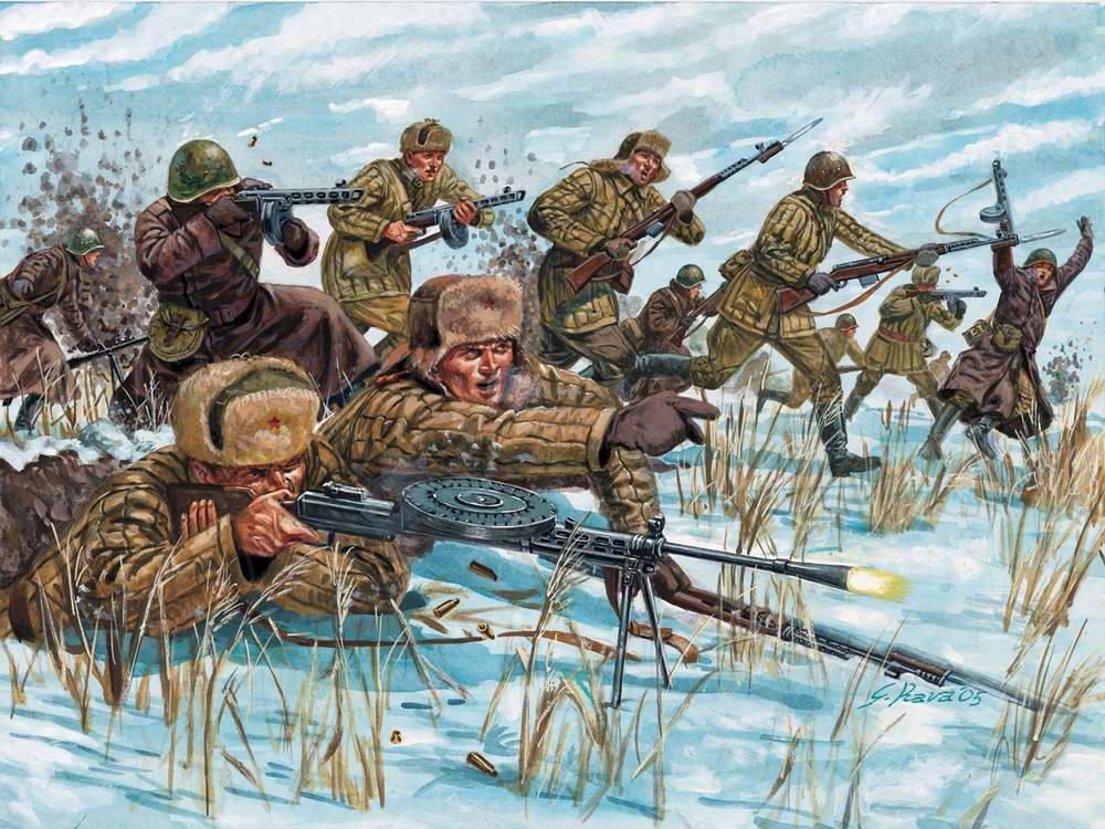 Купить военную картину