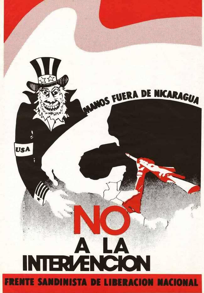Нет интервенции! Руки прочь от Никарагуа