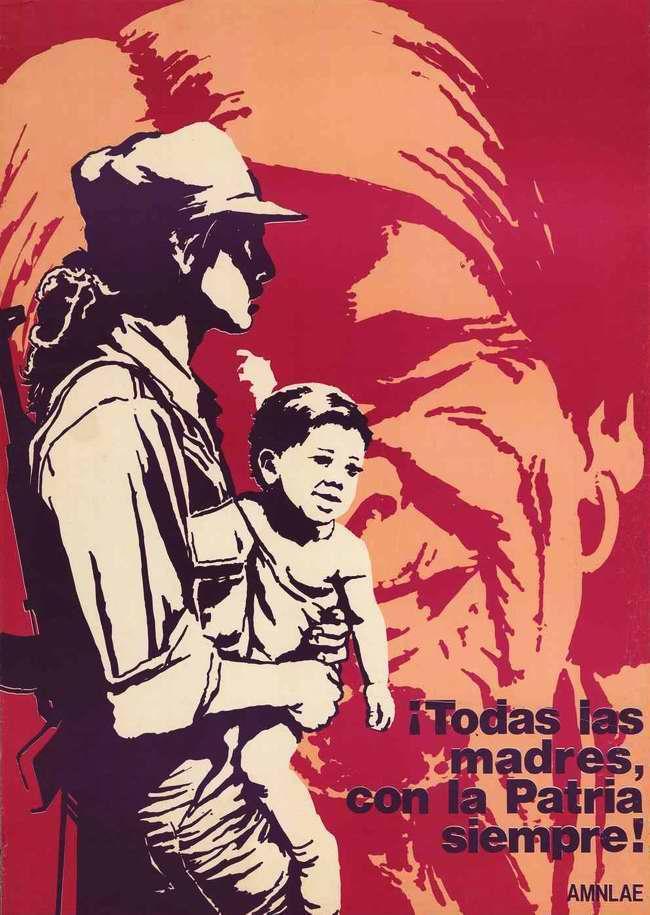 Все никарагуанские матери всегда будут верны своей родине!
