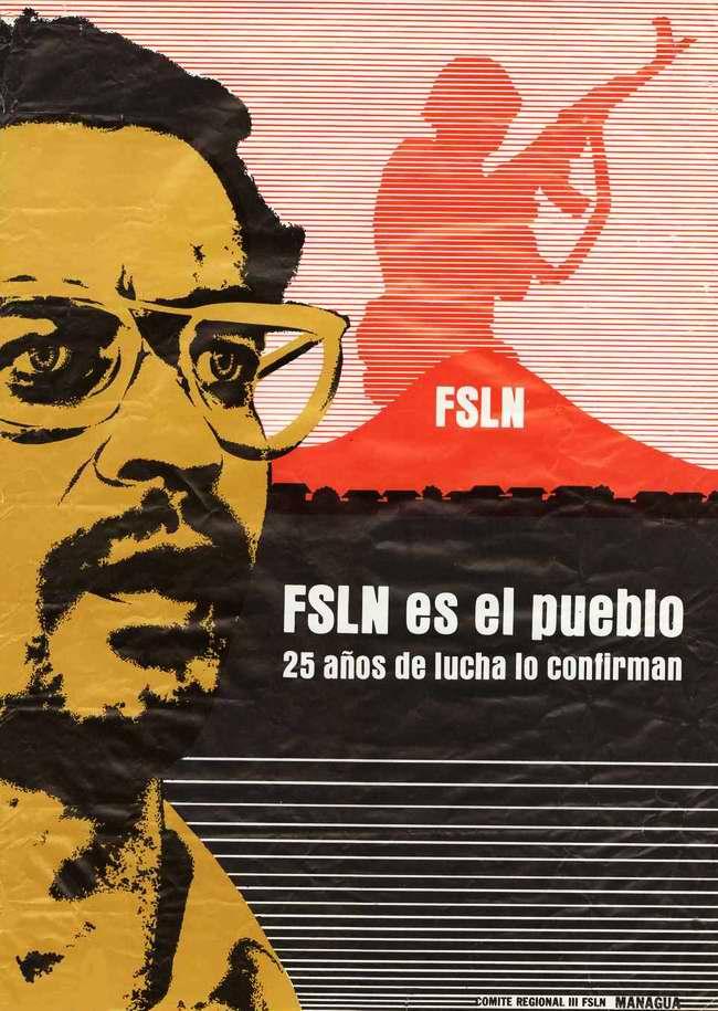 Сандинистский фронт национального освобождения - это наш народ! 25 лет непрерывной борьбы служат подтверждением этого
