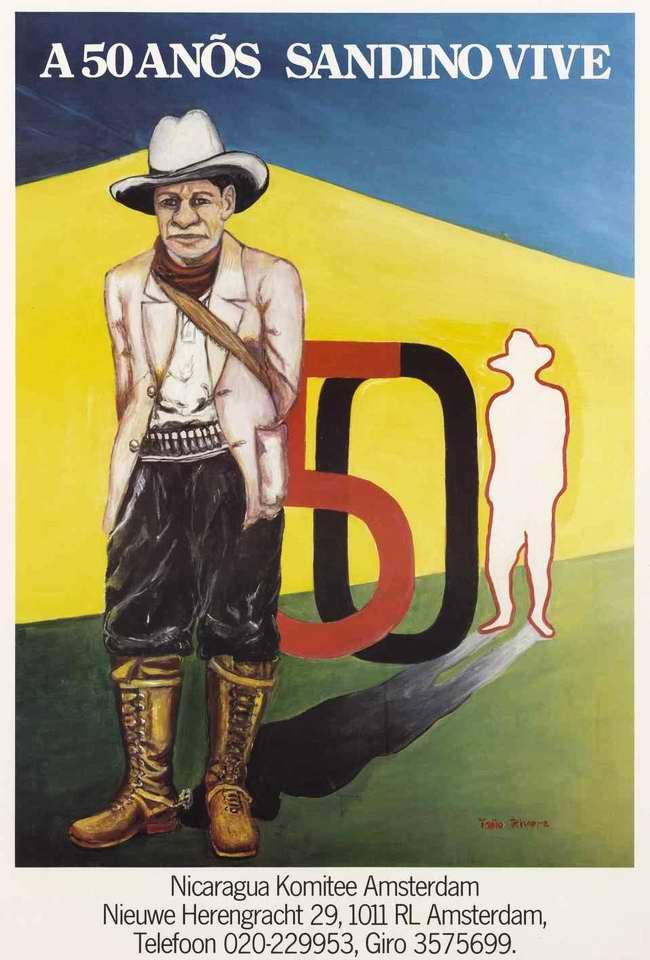 50-лет со дня рождения Аугусто Сандино