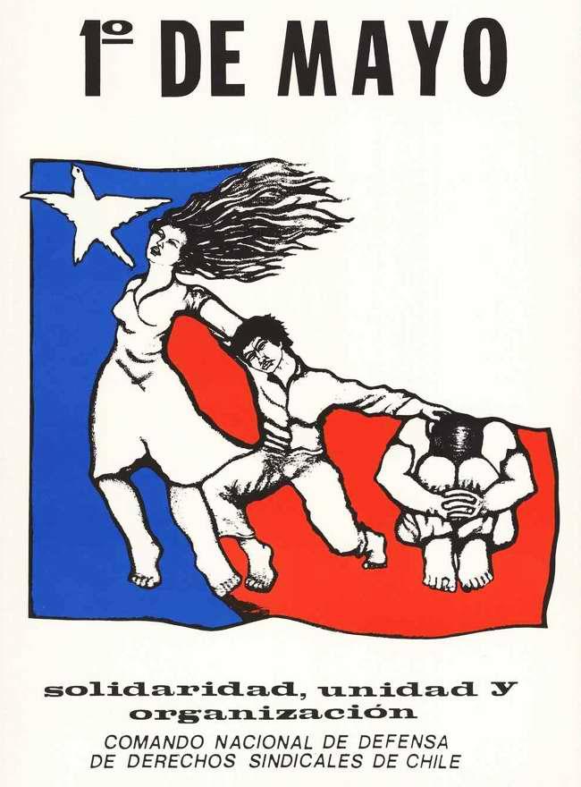 1 мая - за солидарность и организационное единство с борющимися профсоюзами Чили