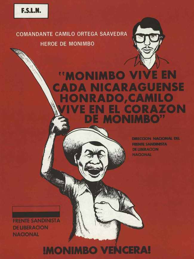 Революционер живет в душе каждого никарагуанца ...