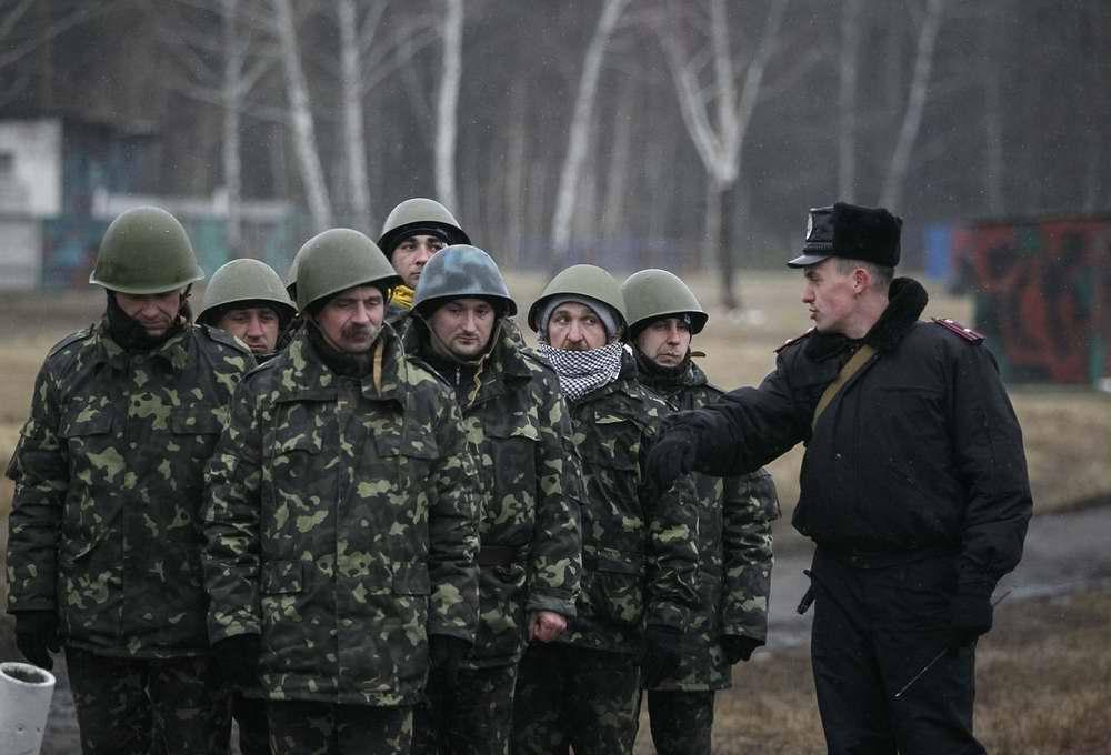 Группа курсантов-новичков, только что прибывших для начала обучения (2)
