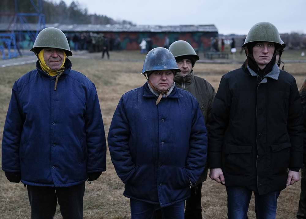 Группа курсантов-новичков, только что прибывших для начала обучения (1)