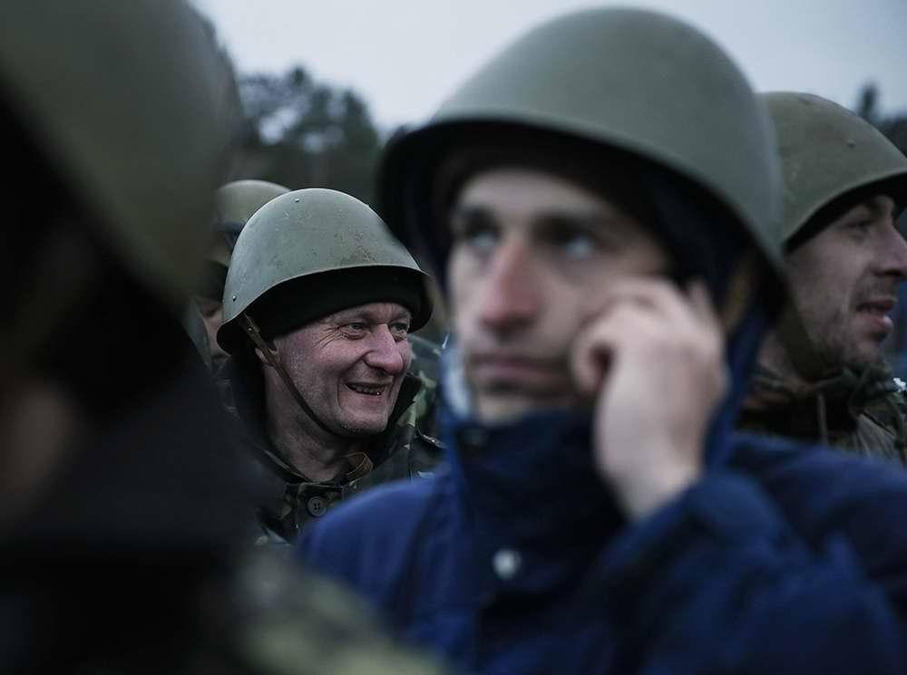 Группа курсантов-новичков, только что прибывших для начала обучения (3)