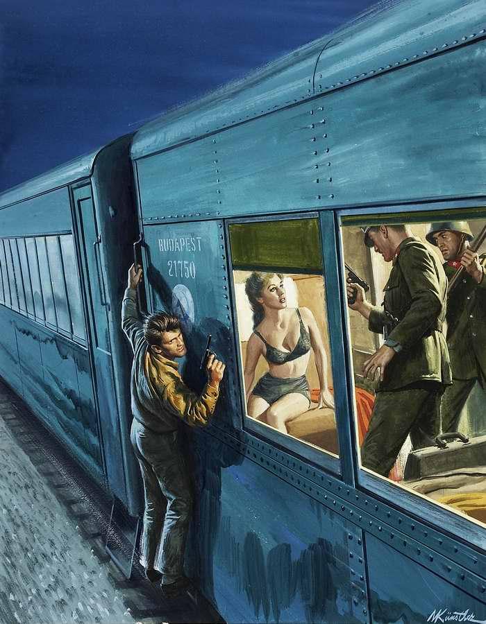 Рисунок художника Mort Kunstler (4)