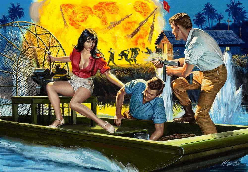 Рисунок художника Mort Kunstler (8)