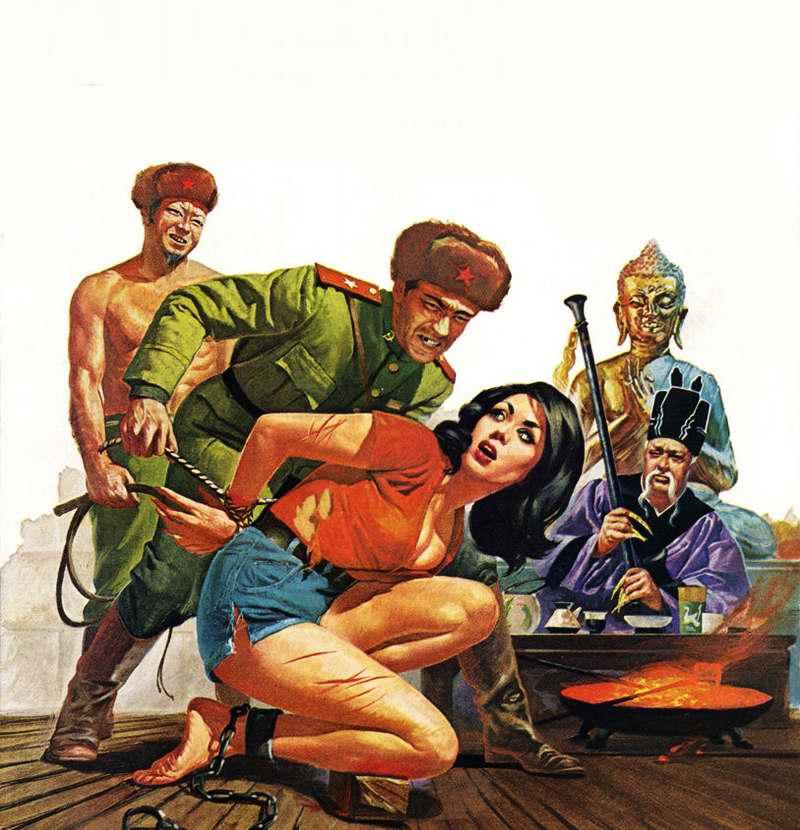 Рисунок художника Basil Gogos