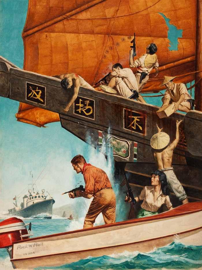 Рисунок художника Stanley Borack (2)