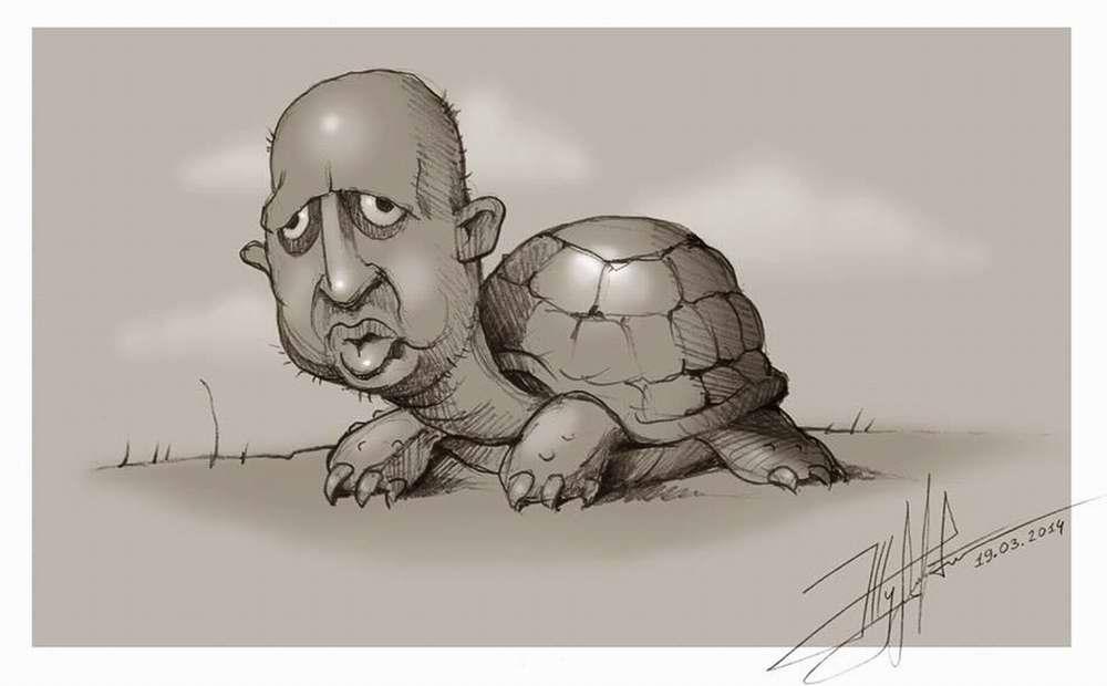 Черепаха Турчилла - Художник Юрий Журавель