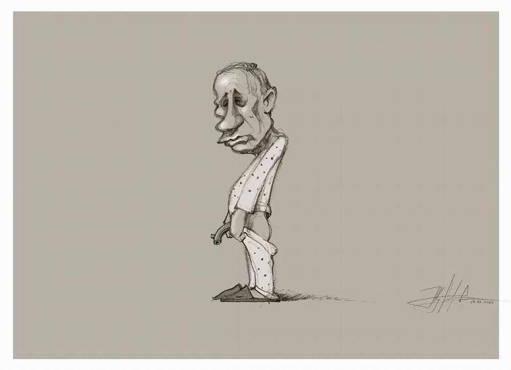Импутенция - Художник Юрий Журавель