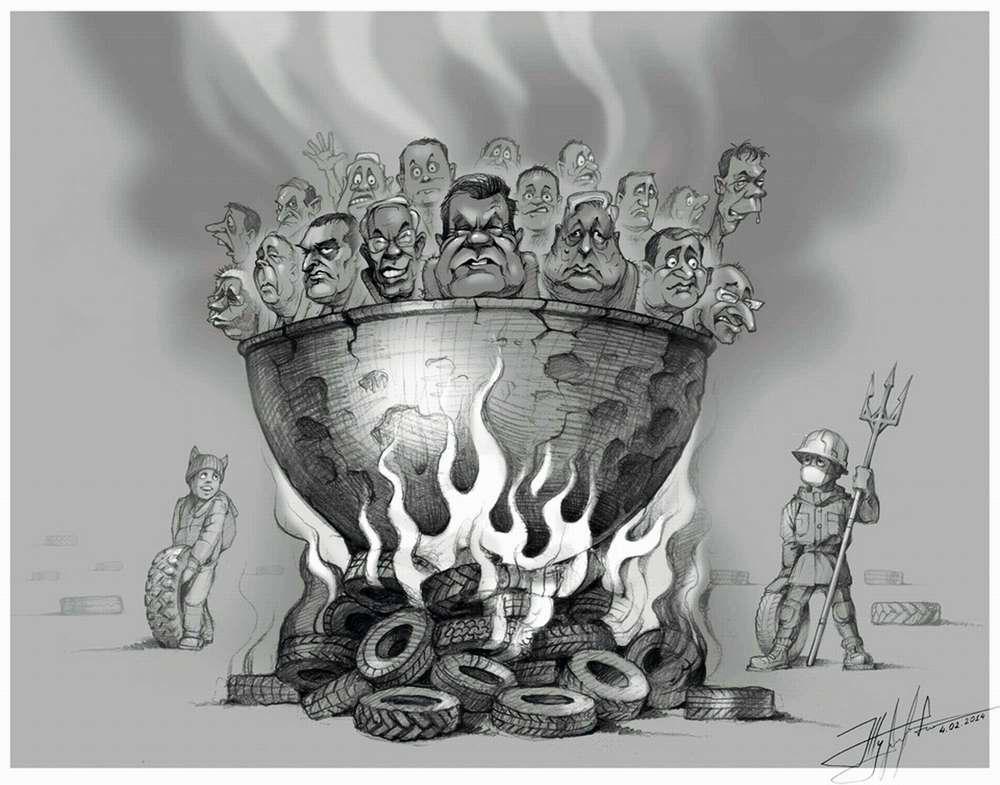 Вареные головешки - Художник Юрий Журавель