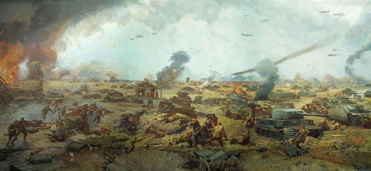 На Курской дуге: танковое сражение