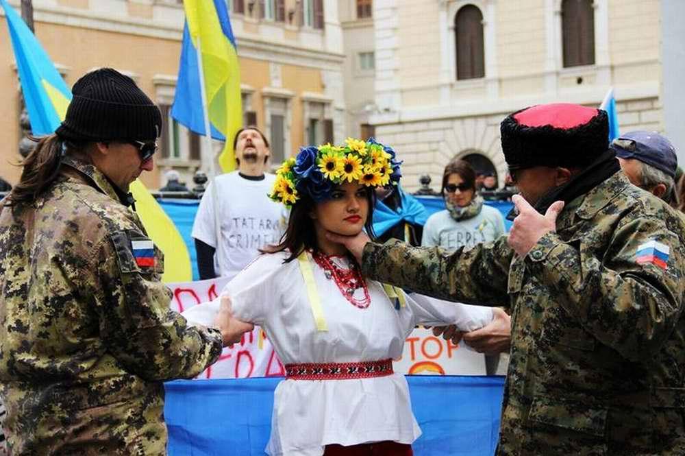 Россия пытается задушить Украину