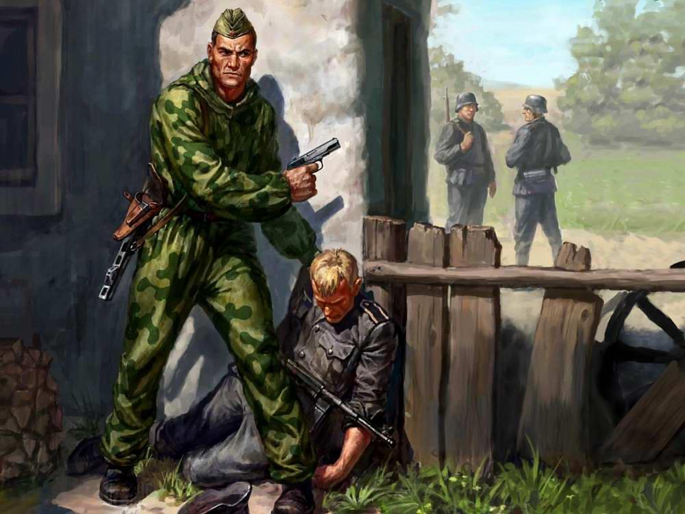 Советский разведчик в тылу врага