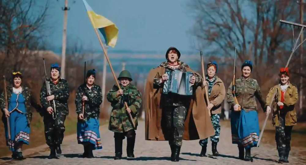 Украинская женская группа Лисапетный батальон - Давай, бабы, давай!