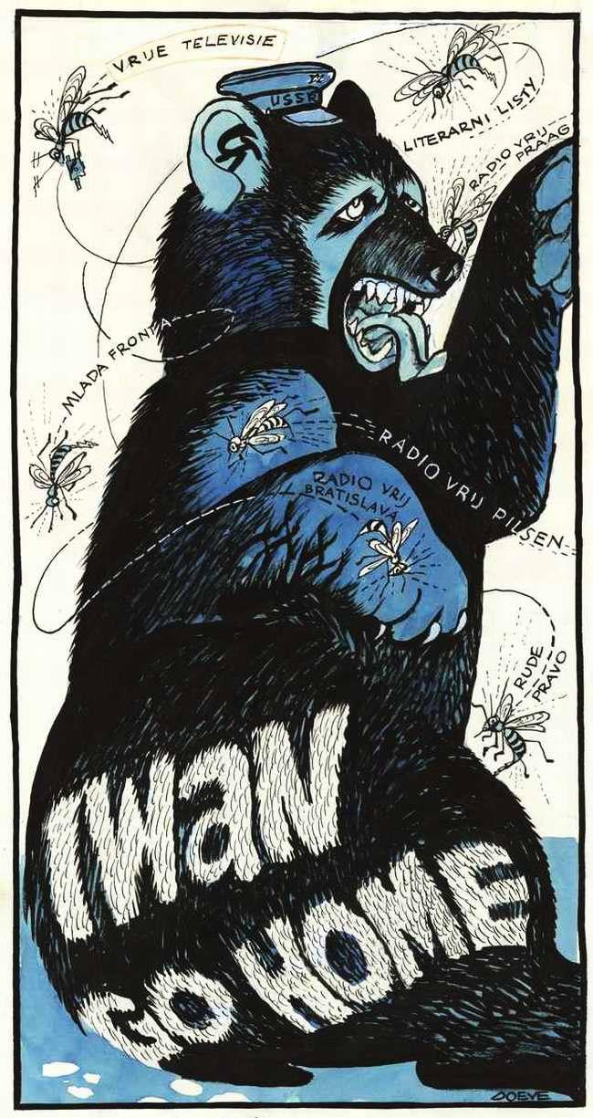 Иван, убирайся домой!: Советский медведь и храбрые чехословацкие пчелы