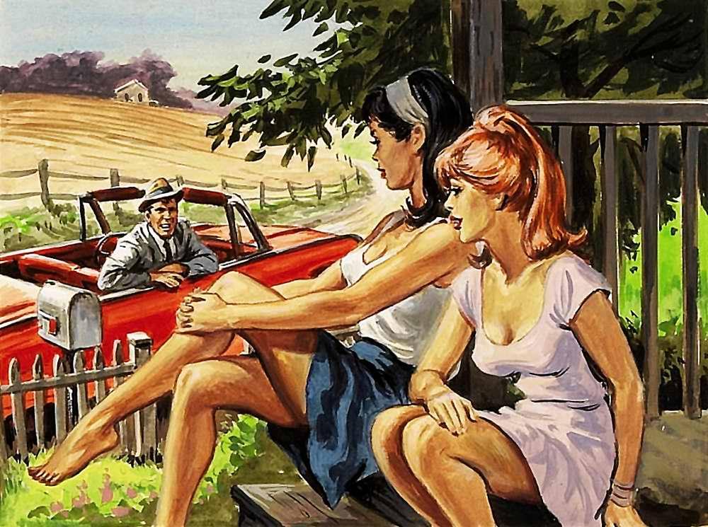 Рисунок художника Earl Norem (4)