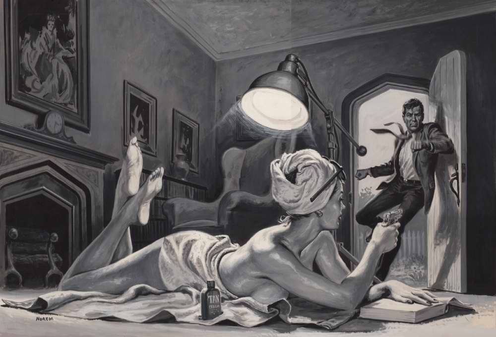 Рисунок художника Earl Norem (6)