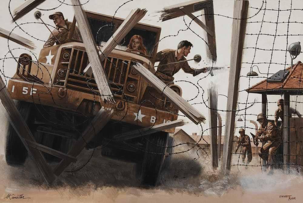 Рисунок художника Mort Kunstler (3)