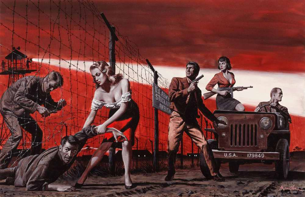 Рисунок художника Mort Kunstler (5)