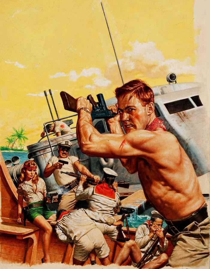 Рисунок художника Stanley Borack
