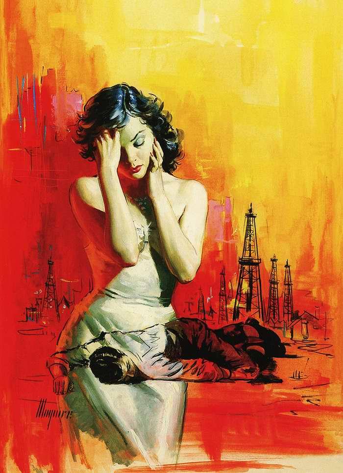 Рисунок художника Robert Maguire