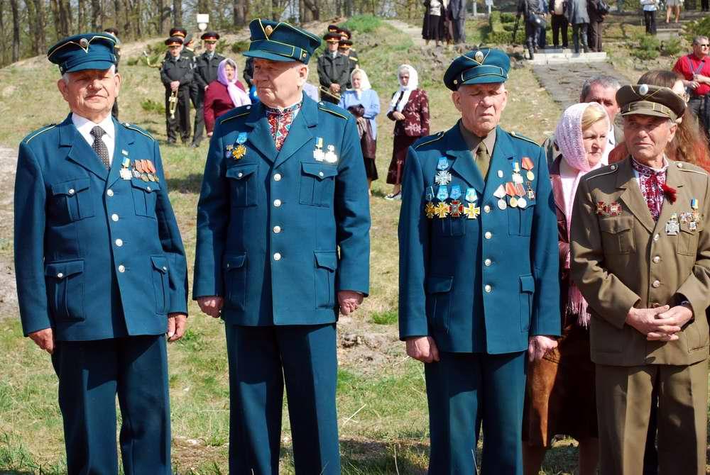 Ветераны УПА с близкого расстояния - Военно-патриотическая игра Гурби - Антонивци