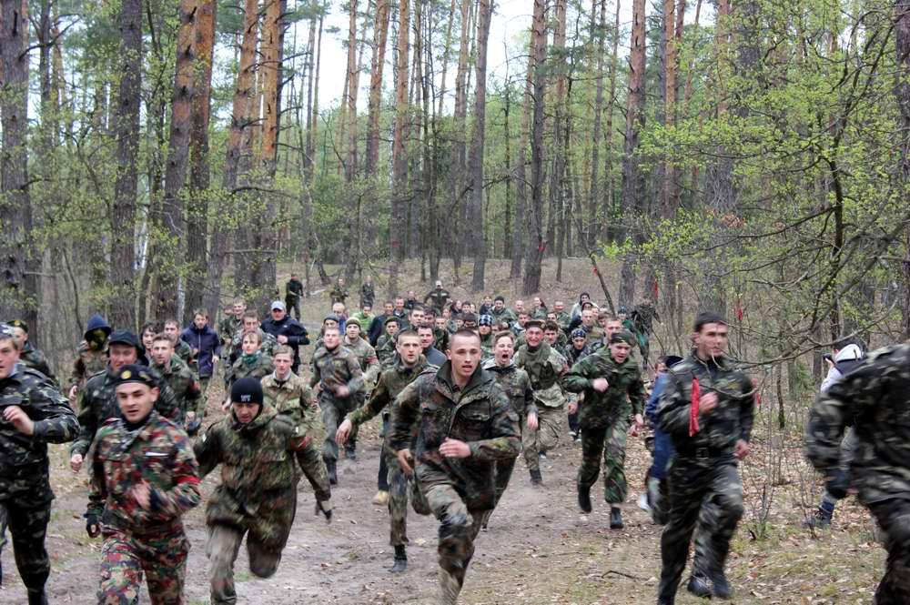 Вперед на захват вражеского флага - Военно-патриотическая игра Гурби - Антонивци