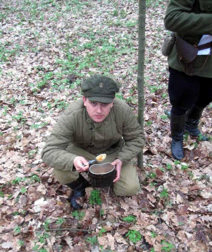 Участники реконструкционного боя между подразделениями НКВД и УПА в апреле 1944 года - Военно-патриотическая игра Гурби - Антонивци (3)