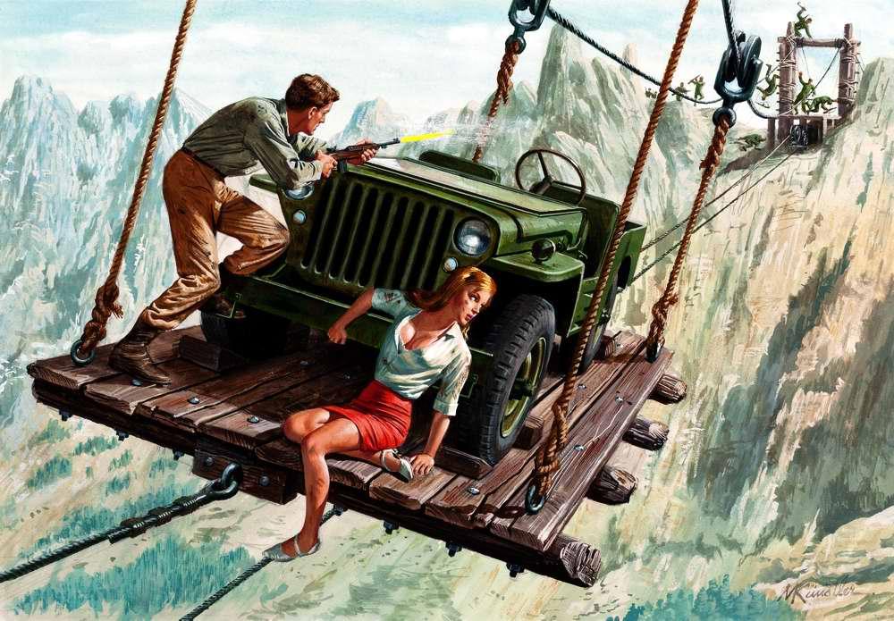 Рисунок художника Mort Kunstler (9)