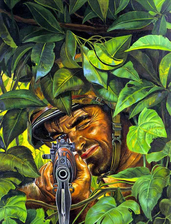 Рисунок художника Bruce Minney