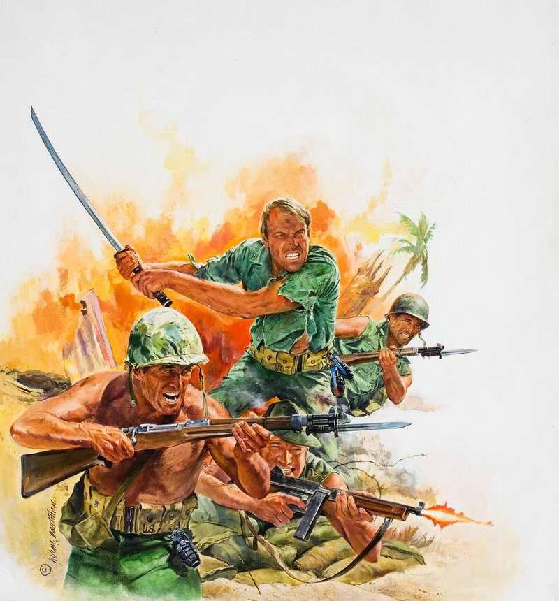 Рисунок художника Norm Eastman (1)